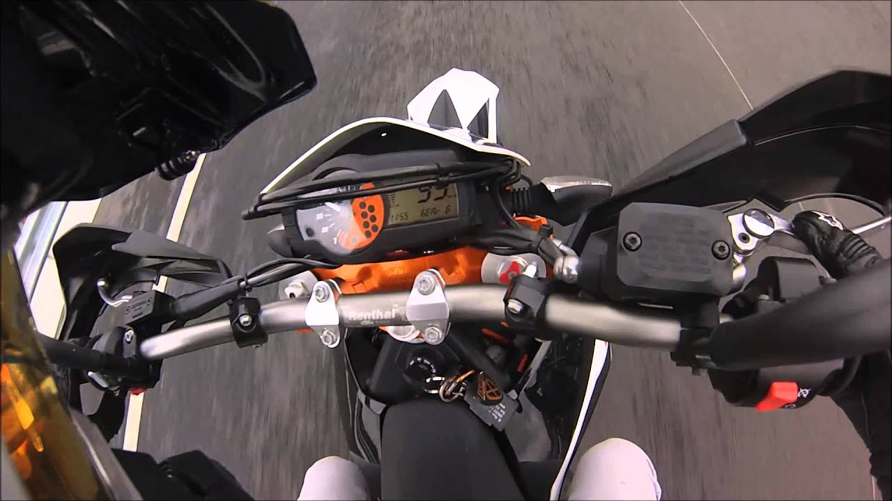 ktm 690 smcr a2 41ps 0-100/top speed - youtube