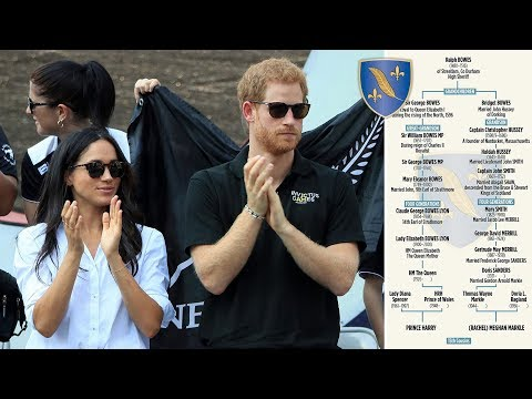 Harry and Meghan are cousins! Remarkable family tree dating back to 1480 reveals