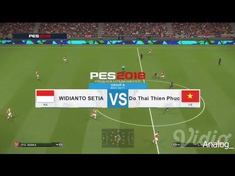 Indonesia VS Vietnam Pro Evolution Score (PES 2018) || Asian Games 2018