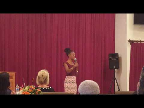 Speaking at Dignity Health St. Bernardine Medical Center Part 1