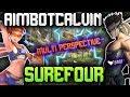 AIMBOTCALVIN VS SUREFOUR [MULTI PERSPECTIVE]