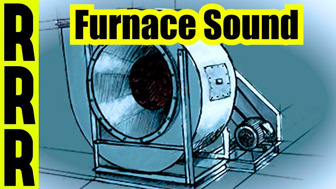 Furnace sound blower fan noise 10 hours of house sounds for Furnace blower motor noise