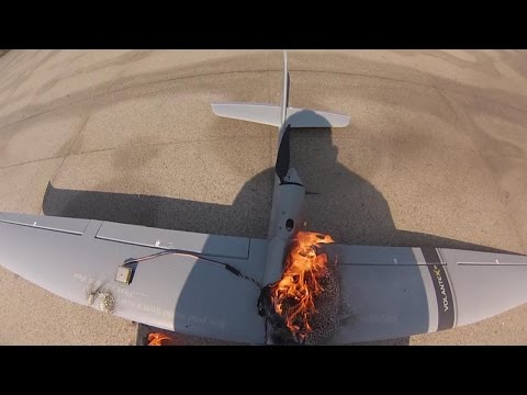 rc-plane-burst-into-flames-after-take-off