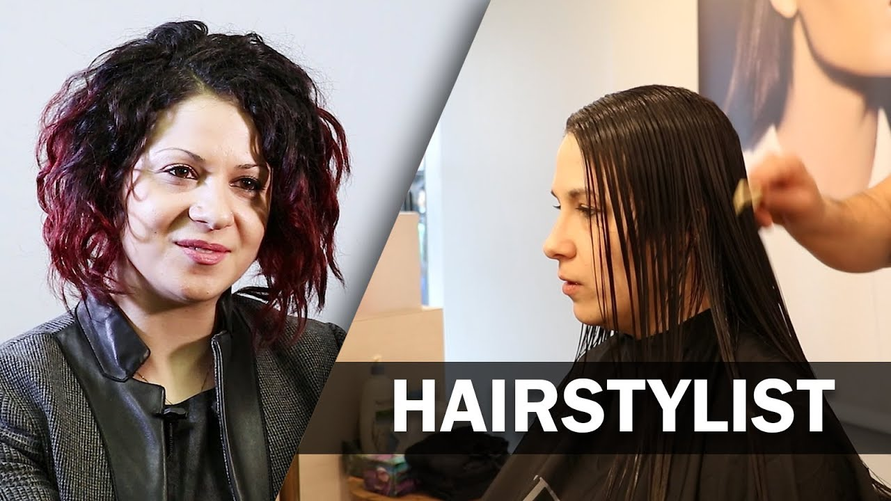 Job Talks , Hairstylist , Lina Talks About Running her Salon and Being a  Hairdresser