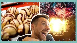 amazing boma dining review epcot fireworks cruise walt disney world vlog june 2018