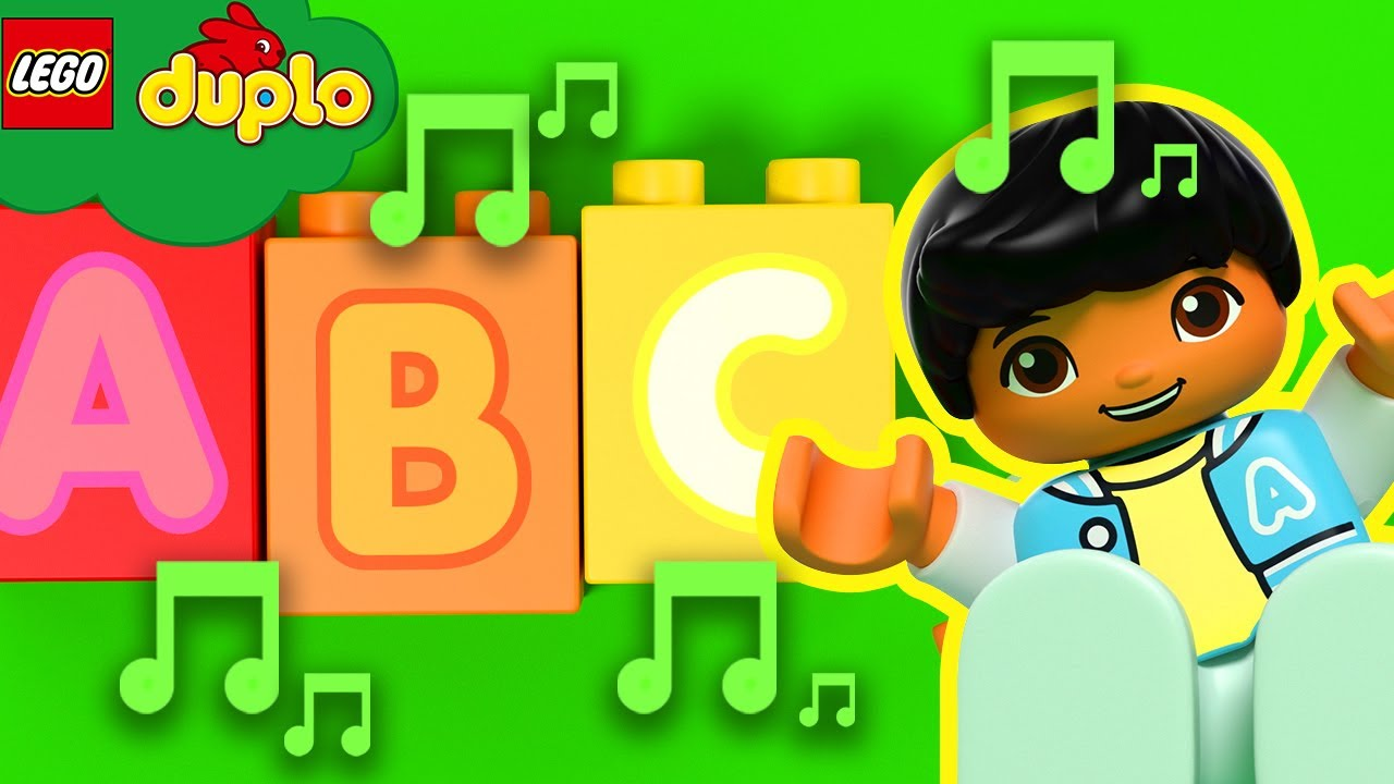 LEGO Alphabet Song | Sing-along with us! | ABC 123 | LEGO DUPLO | Kids Songs | Sleep Baby Songs