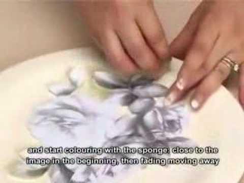 Decoupage pittorico su legno -...