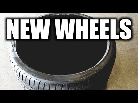 New Wheels And Tires For My Supercharged C7 Corvette | Touchless Tire Mounting In Longmont Colorado