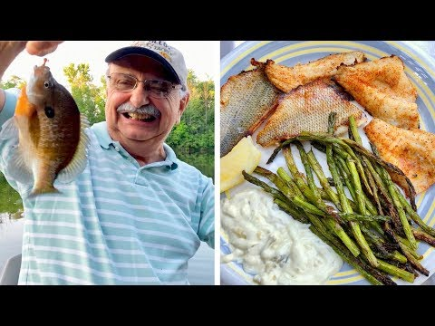 Bluegill Fishing And Grilling (for A Low-carb Recipe That's Fulfilling)