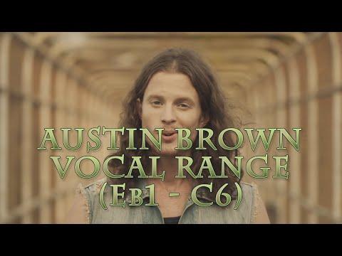 Austin Brown Vocal Range | E♭1- C6 | HD