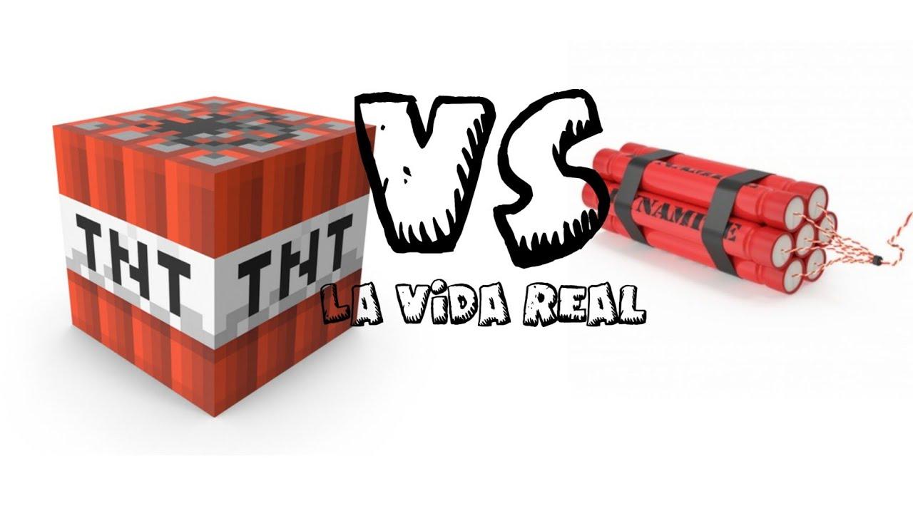 Minecraft Vs La Vida real #2