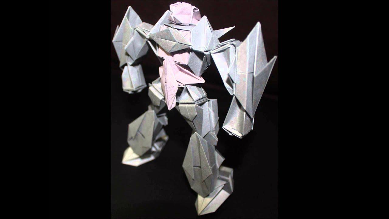 origami robot 7 youtube