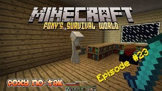 Minecraft Survival - How to build a Potion Room [23]