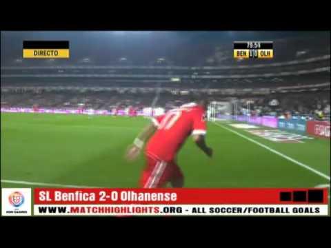 Benfica 2-0 Olhanense [Golos com Relato] www.matchhighlights.org