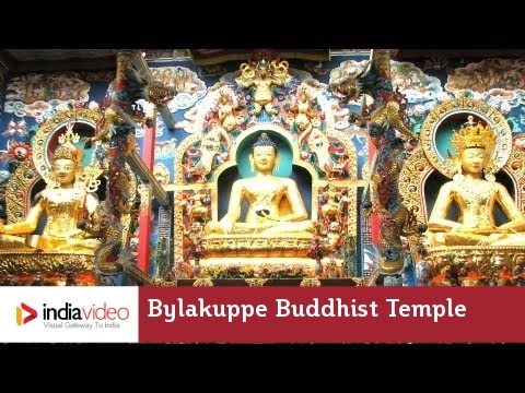 Bylakuppe Buddhist Temple