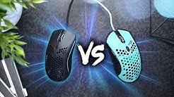 Mouse Comparison! Model O vs Finalmouse Ninja Air58