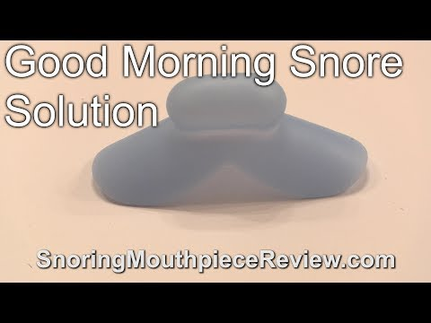 Good Morning Snore Solution - Review + Actual Results [2018]