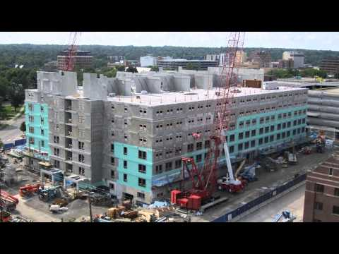 Modular Construction at University of Michigan