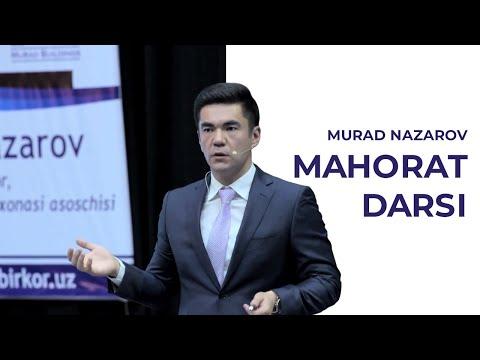 QANDAY KASB TANLASH   Murad Nazarov