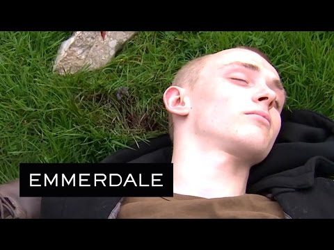 Emmerdale - Dan Finds Josh Bloody and Unconscious at the Pavilion