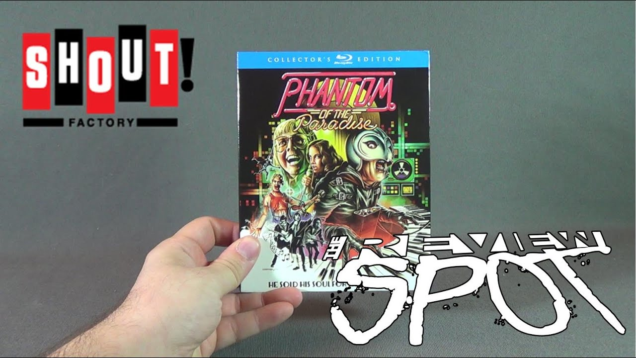 Download Blu Ray Spot - Shout Factory's Phantom of the Paradise Collector's Edition Blu Ray