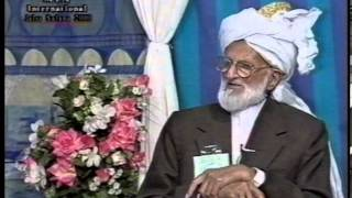 Historic Footage of Qadian 1928 and Interview of Mirza Abdul Haq at Jalsa Salana UK 2000