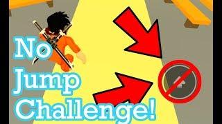 Roblox Jailbreak No Jumping Challenge !!