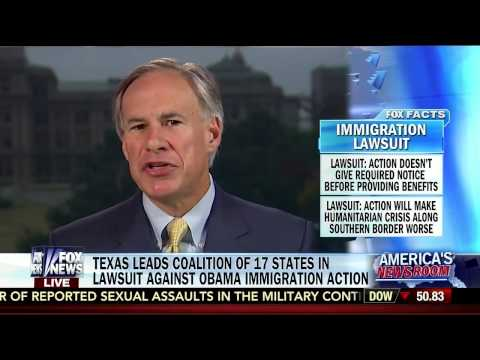 Texas Attorney General Greg Abbott Leads Lawsuit Against Obama Administration
