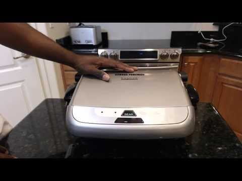 George Foreman Grill w/ Removable Plates Evolve Review