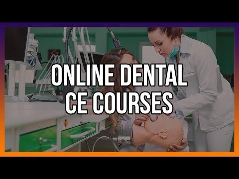 Online Dental CE Courses