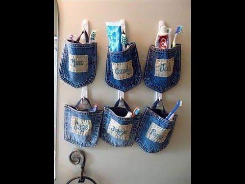 Varias formas de reciclar Pantalones de Mezclilla o Vaqueros