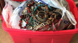 57lbs of Jewelry for $30 Anything worth it?