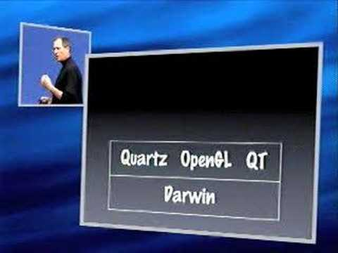 Macworld San Francisco 2000-The Mac OS X Introduction (Pt.1)