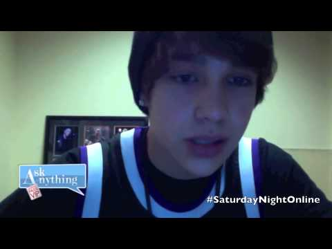 Austin Mahone Answers Fan Questions On Ask Anything Chat w/ Romeo, SNOL  - AskAnythingChat