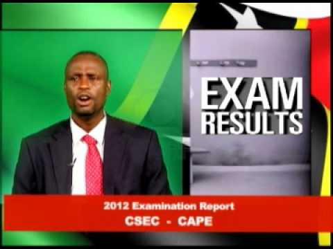 St. Kitts Nevis Education Minister Gives 2012 Examinations Report