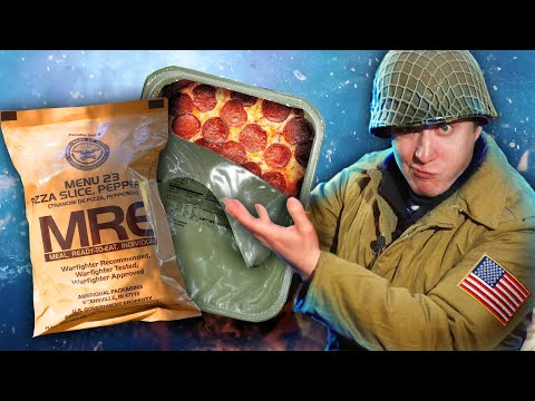ОБЗОР ИРП! MRE - Пицца! Обнуляем Америку!