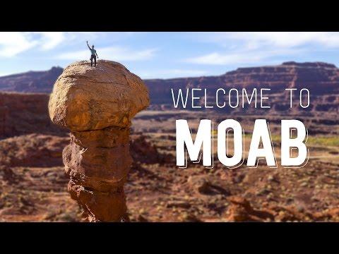 Moab Rock Climbing/Canyoneering 4K  - Welcome to Moab