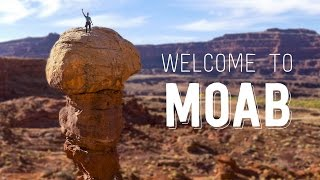 Moab Rock Climbing/Canyoneering 4K  - Welcome to Moab