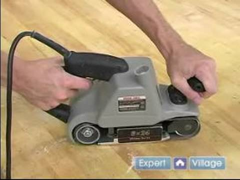 How To Use A Belt Sander Understand The Best Hand Position When