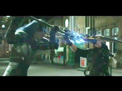 Captain America and Black widow vs Proxima midnight Avenger-infinity war New Clip