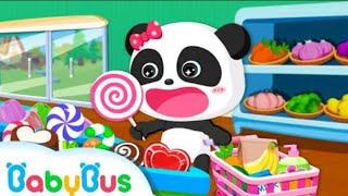 Babybus baby panda supermarket