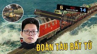 Khi đoàn tàu Bomman và Dev Nguyễn thông chốt tổ đội Malaysia