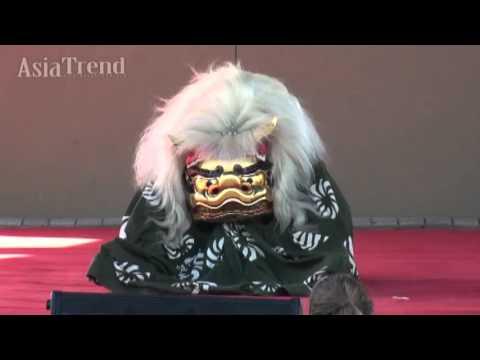 Lion Dance by Special Guest Edo Sato Kagura - Orlando Japan Festival 2015