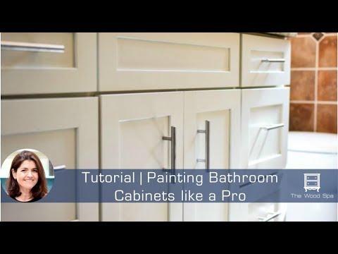 Painting Bathroom Cabinets like a Pro - Speedy Tutorial #14