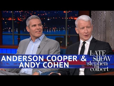 "Anderson Cooper Jokes ""I Am in Deep Trouble"" With Andy Cohen ..."