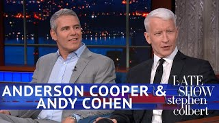 Andy Cohen Kept Texting Anderson Cooper During Trump