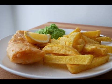Fish & Chips Mit Erbsenpüree (Rezept) || Fish & Chips With Mushy Peas (Recipe) || [ENG SUBS]