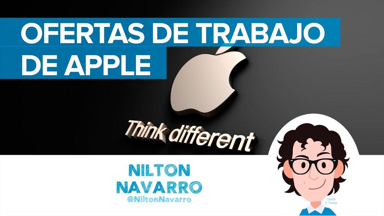 Apple Busca Personas Para Trabajar Desde Casa Ofertas De Trabajo De Apple Trabajar En Apple Youtube
