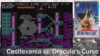 Castlevania 3: Dracula's Curse. Полное прохождение