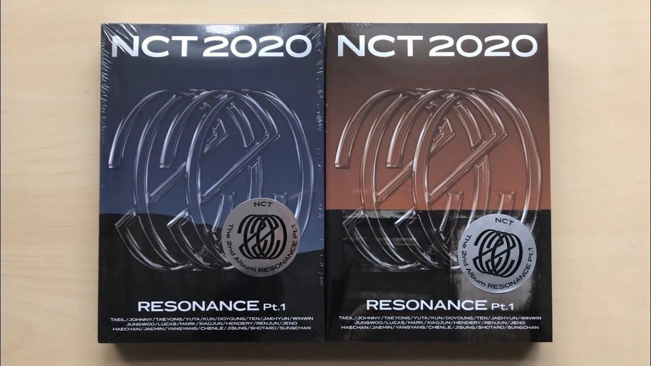♡Unboxing NCT 2020 엔시티 2020 2nd Studio Album Resonance Pt.1 (Past & Future Ver.)♡